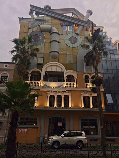 #CrazyHouse Modern Architecture #modernart #batumi #Georgia #travel Architecture Building Exterior