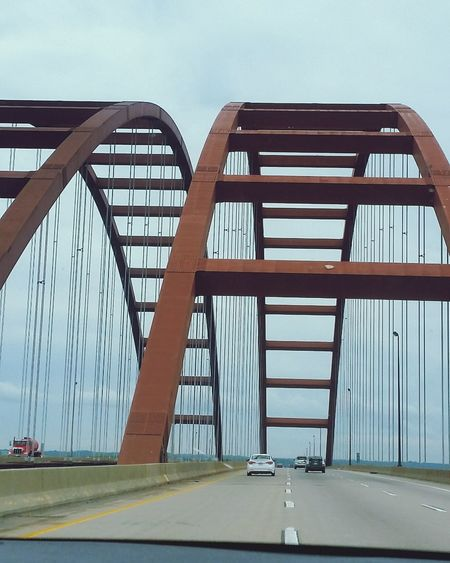 City Bridge - Man Made Structure Road Sky Architecture Built Structure Cable-stayed Bridge Urban Skyline Steel Cable