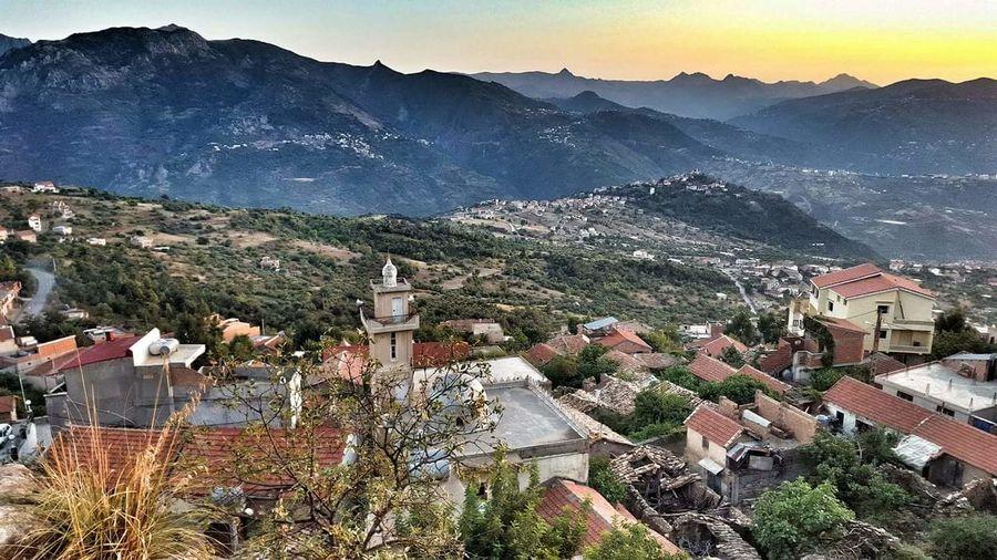Mon village ihitoussene commune de bouzguene a tiziouzou en Algérie ❤ Patrie Mountain Outdoors Nature Village View Village Ihitoussene