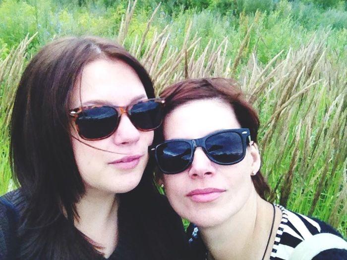 Me and my mom ☺️ Walking Around Russia Siberia 2015  Hello World Hi! That's Me