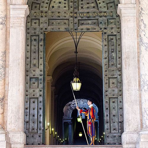 Swiss guard at the Vatican, Rome. Rome Travelblogger Earth Trek Traveling Photography Travel Photography EyeEm Best Shots Bestoftheday Vatican Fine Art Photography