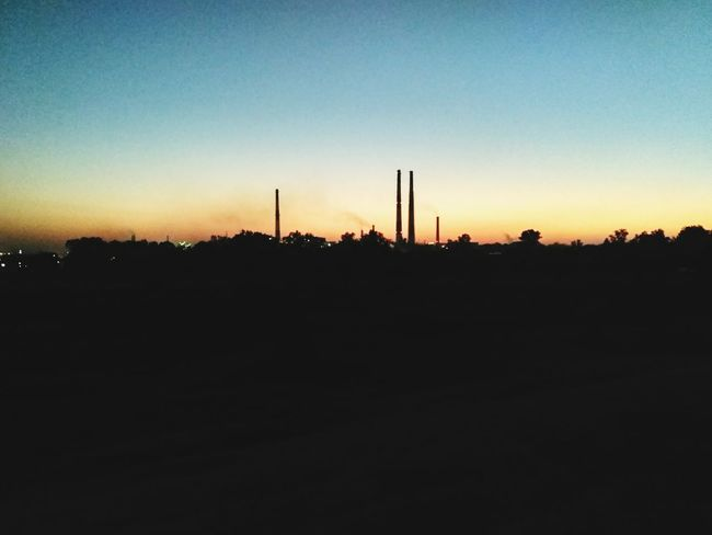 Industrial Landscapes Outdoors Nature Day Sunset Sky Clear Sky Travel Destinations
