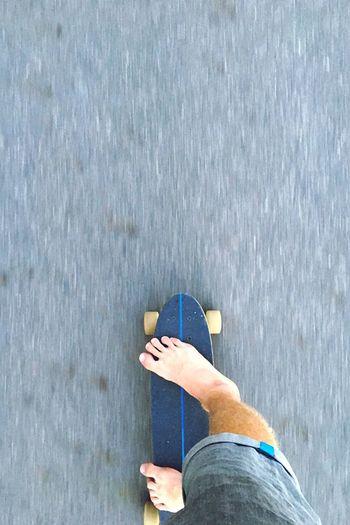 Skate Skateboarding Longboard Cruise Street Streetphotography Summer Feets Concrete