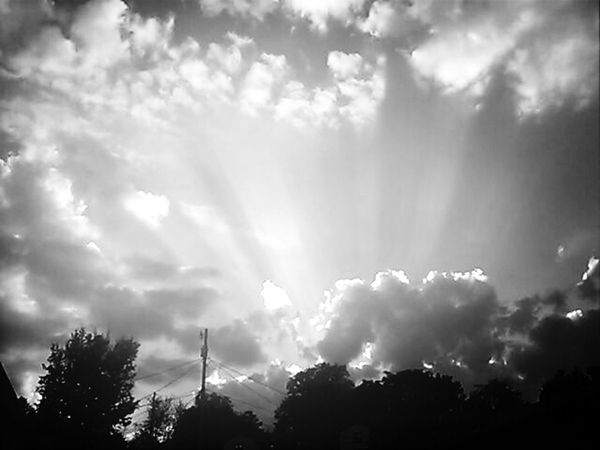 My veiw of the clouds today ♥ Nature_collection
