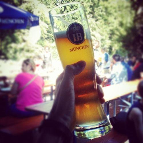 A hoibe Russ! München Englischergarten Lifeisgood Summerinthecity