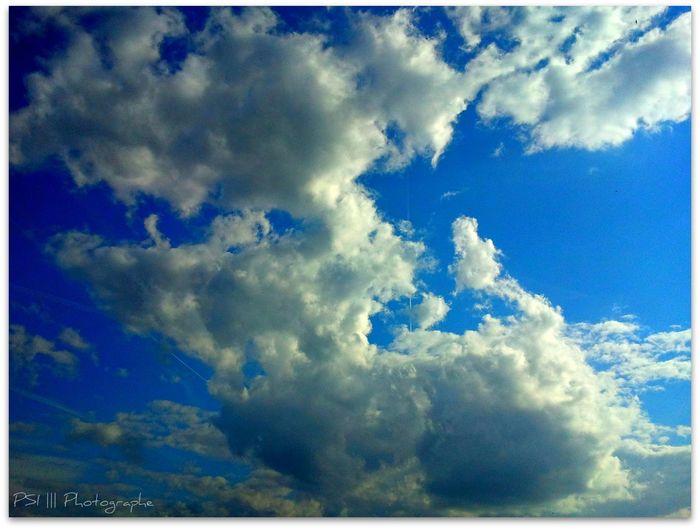 Blue Cloud Cloud - Sky Cloudy Cumulus Cloud Nature Sky Tranquility