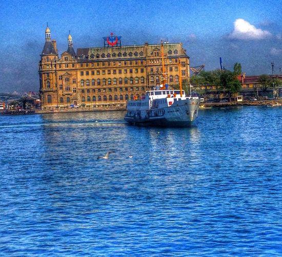 Haydarpasa Istanbul #kadikoy #haydarpasa Deniz Vapur