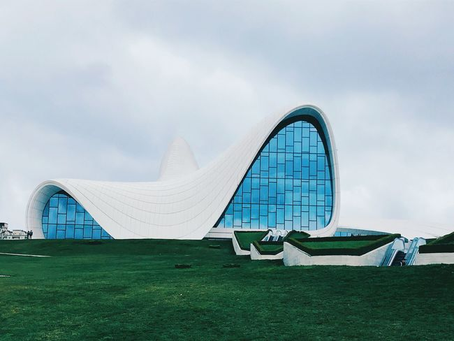 Architecture ZahaHadid Baku♡♥ Baku Azerbaijan