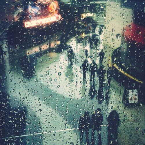 Rain Raining Vintage Landscape London Blur Popular At Westfield London Shopping Centre 35mm Film