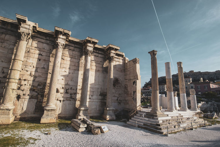 Athens Athens Greece Athens, Greece History The Past Architecture Architectural Column Ancient Built Structure Sky Ancient Civilization Old Ruin Nature Archaeology Travel Destinations Day Cloud - Sky Travel Damaged Tourism Building Exterior Place Of Worship No People Outdoors Ruined Colonnade