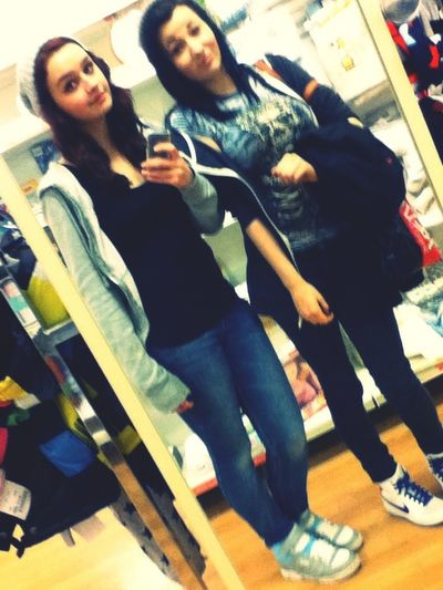 Shopping with Charity! Aww love herrrr