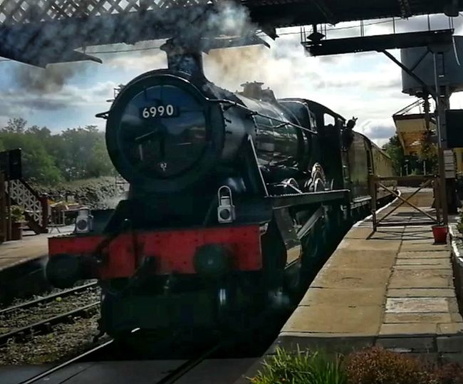 Steam Train Ramsbottom Great Western Railway Locomotive Steam Train Train - Vehicle Railroad Track Rail Transportation Sky Cloud - Sky