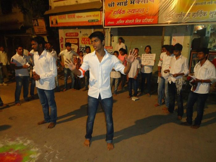 Street play by Indian college students on clenliness....PLZZZ SUPPORT US...