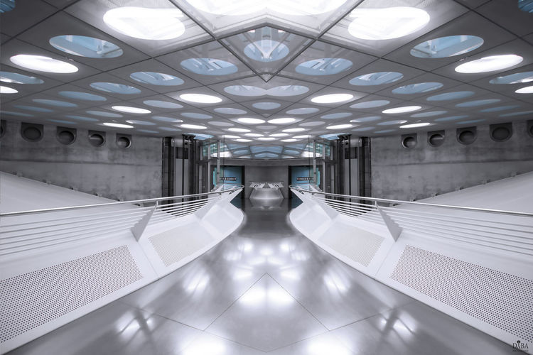 Stuttgart Architecture Building Empty Indoors  Mercedes-benz Museum Modern Museum No People Transportation EyeEmNewHere