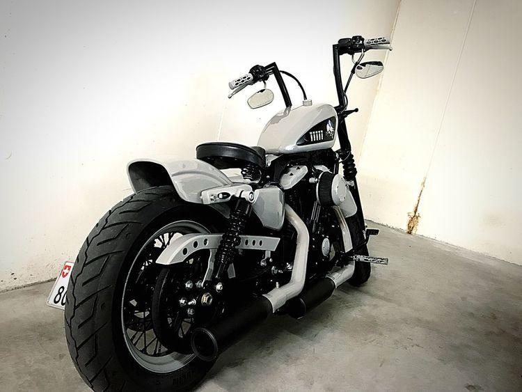 Motorcycle Harleydavidson Motorcycle Bobber Oldschool