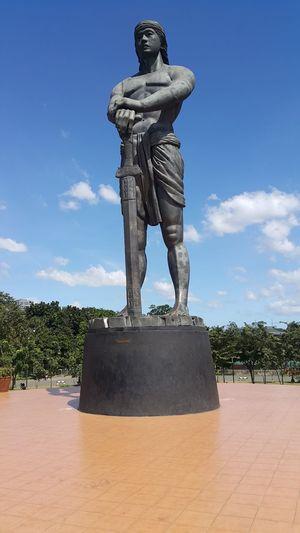 Architecture Blue Day Lapu-lapu No People Outdoors Philippine History Sculpture Sky Statue Symbol