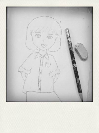 Drawing Myself Fun