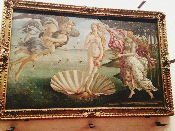 Yesterday Florence Uffizi NascitadiVenere Verybeautiful