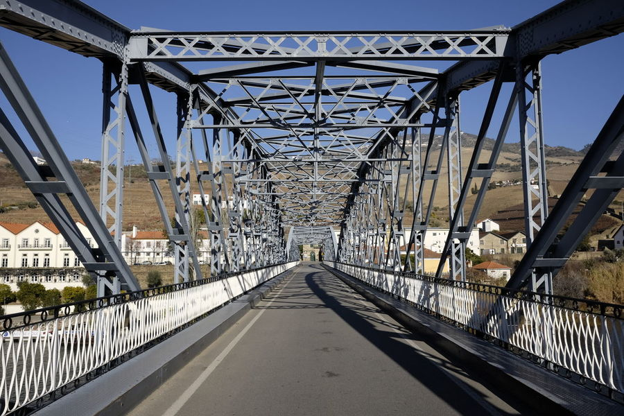 Pinhão! Portugal Architecture Bridge Bridge - Man Made Structure Built Structure Connection Day Nature No People Outdoors Pinhão Railing Road Sky The Way Forward Transportation