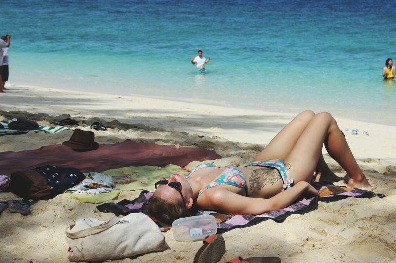 Thailand Beach Summer Hellosummer  Blue Sky Sea And Sky