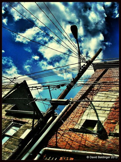 Clouds And Sky MyWorldInPictures Back Alleys Walking Around