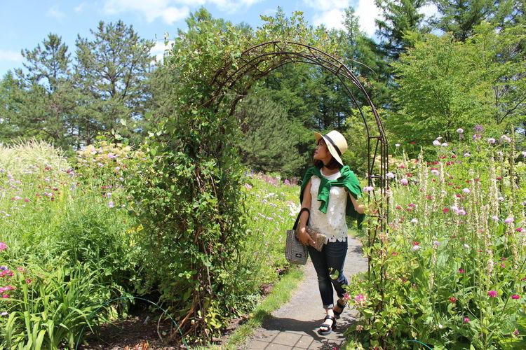 メルヘンの、世界。 Garden That's Me Code Green Happy Woods 風のガーデン 富良野 新富良野プリンスホテル お庭