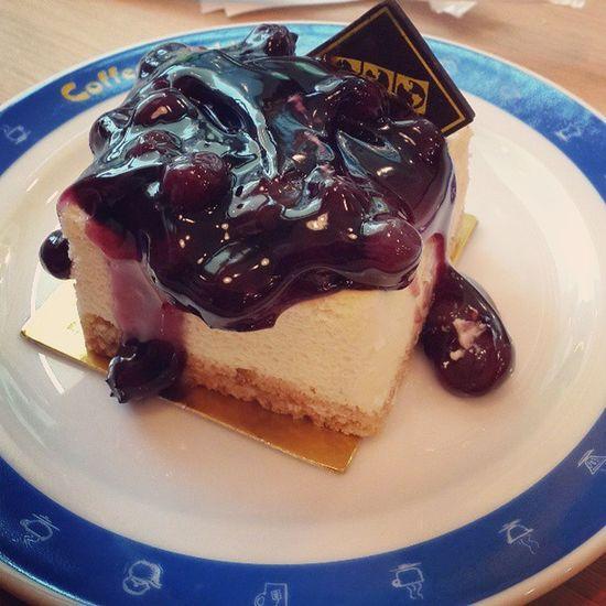 Blueberry Cheese Cake Take abreakbetweenorientationclassatthanyacoffeeworld