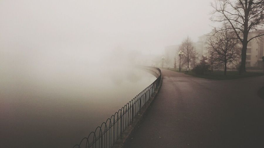 Misty morning walk Hello World Morning Walk Mist Eskilstuna