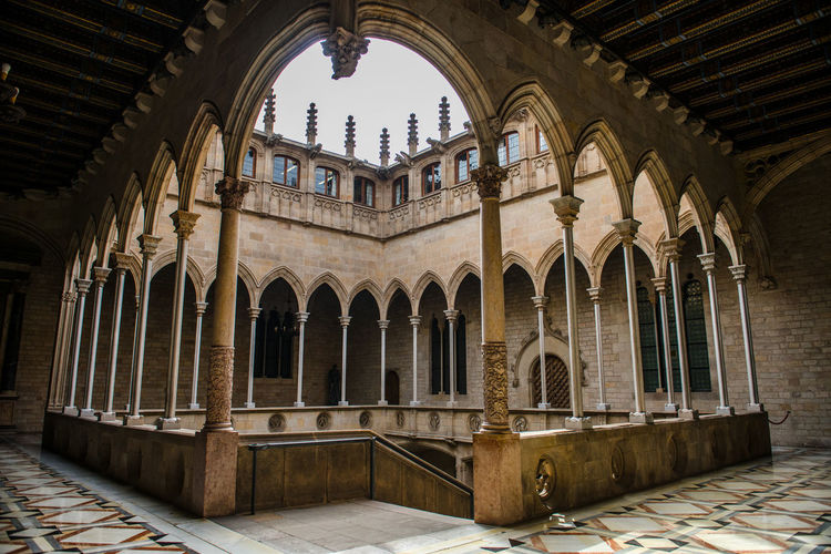 Courtyard of cathedral