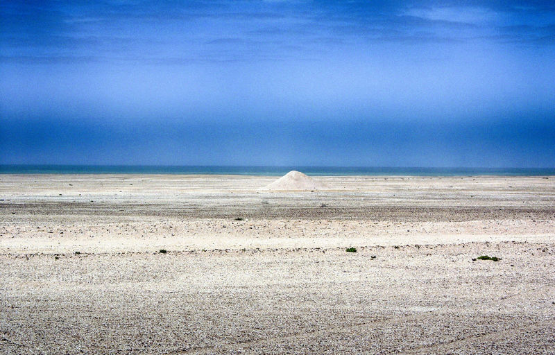 Land Sky Scenics - Nature Tranquil Scene Beauty In Nature Tranquility Water Environment Sea Horizon Day Landscape Cloud - Sky Beach Nature Non-urban Scene Sand Horizon Over Water No People Arid Climate Salt Flat