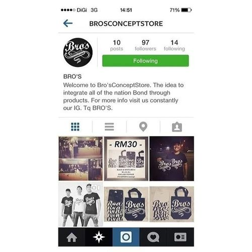 Do follow them Brosconceptstore belong to a friend of mine Localdobetter Malaysianstuff Cunbaikmaridowh supportlocalbiz