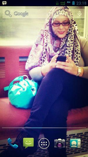 bbm on the train
