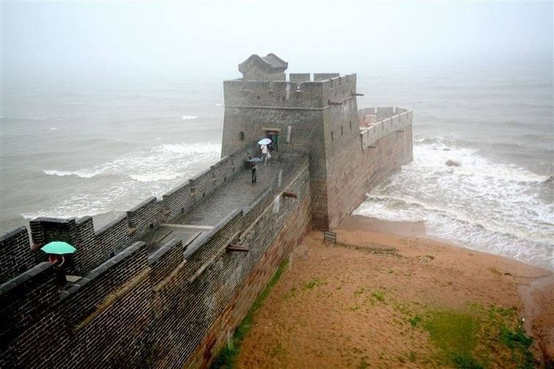Where china wall ends