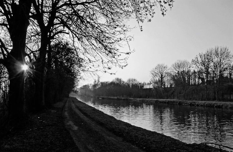 Promenade en fin de journée