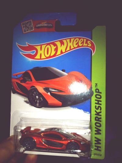 Mi infancia recordada por un McLaren Mclaren P1 de HotWheels <3