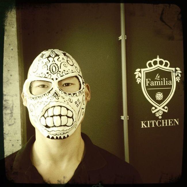 Close-up Human Representation Mask - Disguise
