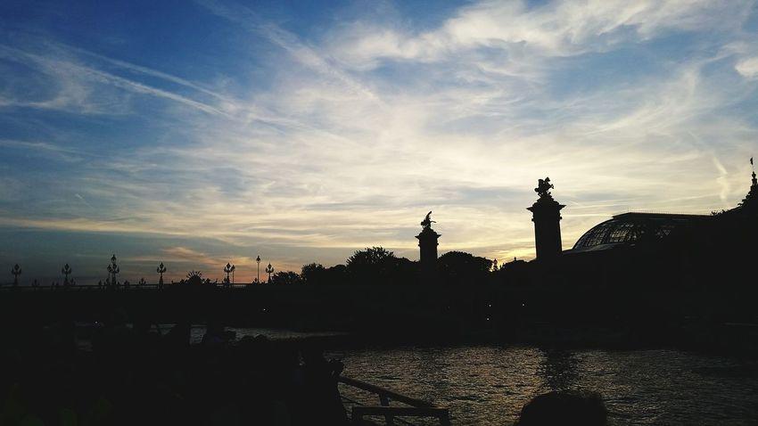 View on the Seine. ♡