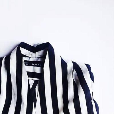 White Black Stripes Zara Jacket Elegant Elégance Beautiful Chic Tagsforlikes Followme Instaday Instafashion Cool Tagstagramers Follow