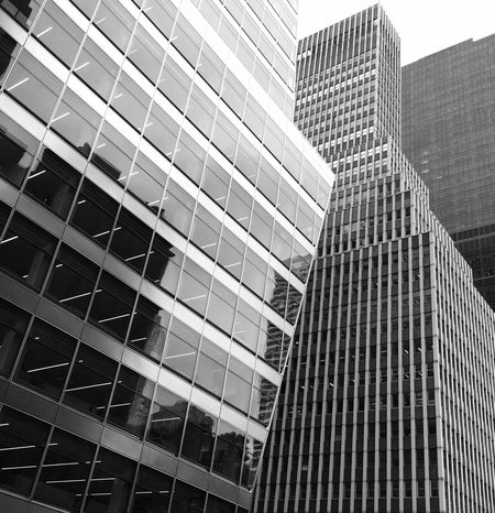 I would go out tonight but I haven't got a stitch to wear... Architecture Modern Skyscraper Building Exterior Built Structure Low Angle View City Corporate Business Window Office Building Exterior Reflection Façade Office Day Business Outdoors No People Futuristic Garment District NYC Photography NYC