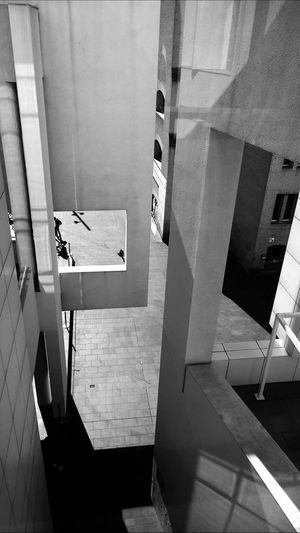 MACBA Museum In Barcelona Black And White Architecture Point Of View SPAIN Architecture_collection Architecture_bw People And Places Building Exterior Street Life Urban Geometry Urban Photography Streetphoto_bw Urban Exploration Built Structure Architectural Detail City Street Streetphotography_bw