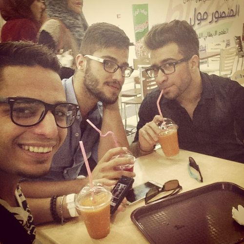 Me Friends At Almansour mall opening @sadeqjaafer @dyingsoul92