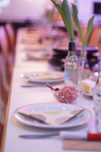 Table Drinking Glass No People Flower Close-up Indoors  Plate Day Freshness Dinner Food Foodphotography Decoration Clean