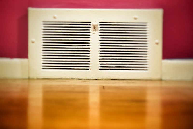 Indoors  No People Close-up Abstract Electric Modern Simple Stylish Nostalgia Familiarity Home Vignetting Still Pink Metal Bedroom Wall Heat Temperature Heater Cool Cooling  Forced Air A/c Air Conditioner
