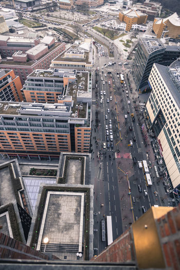 berlin Berlin From Above  Winter Architecture Built Structure City Potsdamer Platz Colour Your Horizn Mobility In Mega Cities