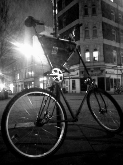 Tall Bike Bikeporn Light And Shadow Critical Mass