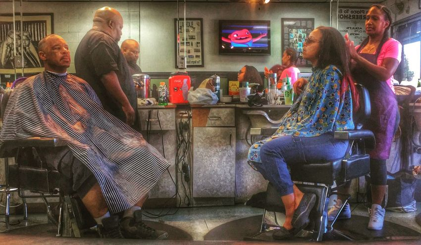 Shoplife. Barbershop HDR Hdr_Collection