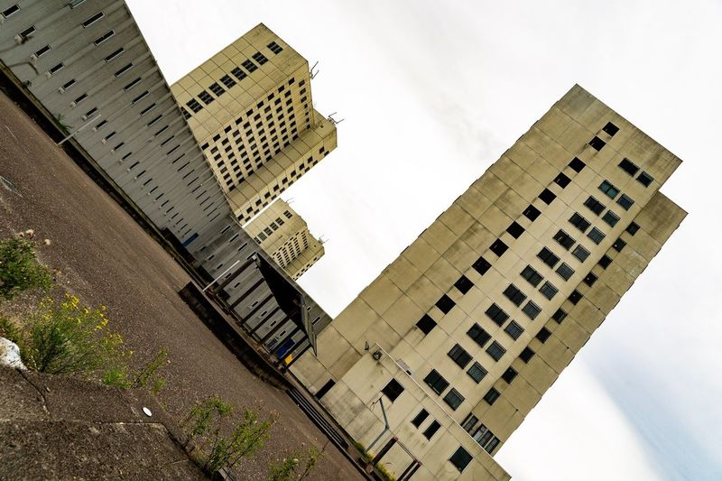 Bijlmer bajes Former Prison Prison Bijlmer Bajes Amsterdam Architecture Building Exterior Built Structure Sky Low Angle View