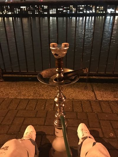 Enjoying Shisha Hookah Time  Shisha Hookah Shisha By The Thames Nightphotography London Photography EyeEm Best Shots Art By Laziz