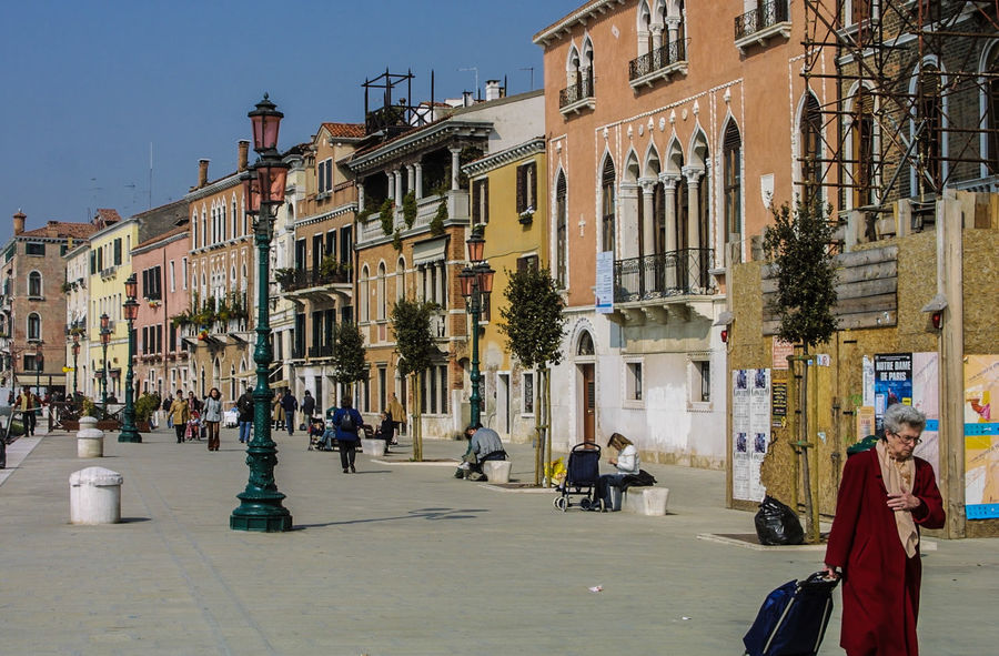 Venedig, Ohne Touristen, Lagune, Frühling, Venice, WithoutTourists, Springtime, City, Sea, Water, Historical, Old Town