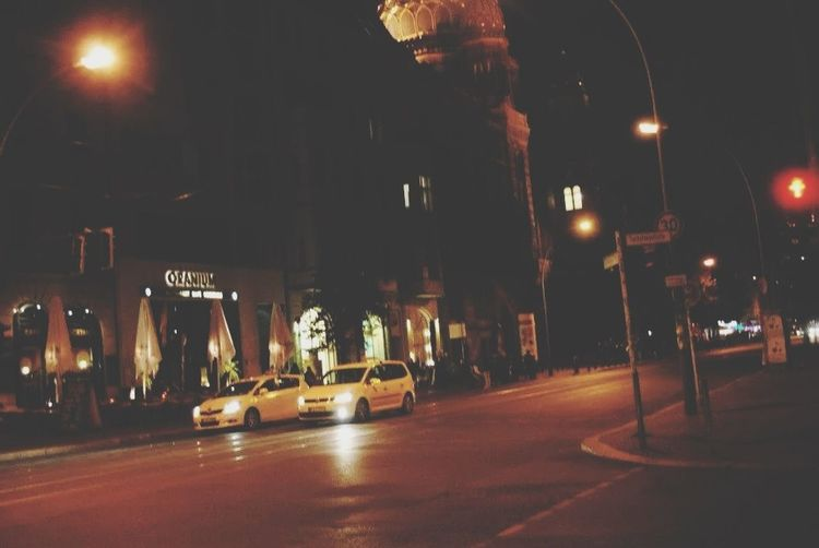 Berlin Streets Nightphotography